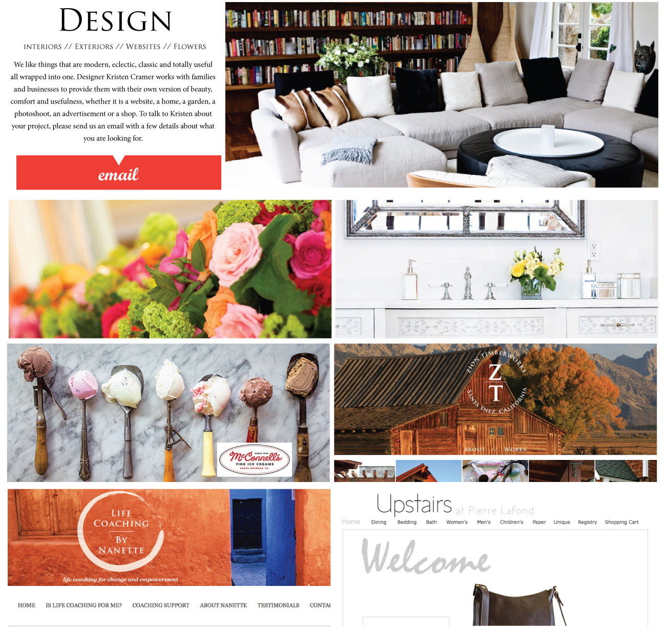 Design, Interiors, Websites, Photoshoots, Kristen Cramer Global Eye Art Collective